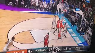 3/18/18 Syracuse Upsets Michigan State! Final Minutes (NCAA March Madness 2018)