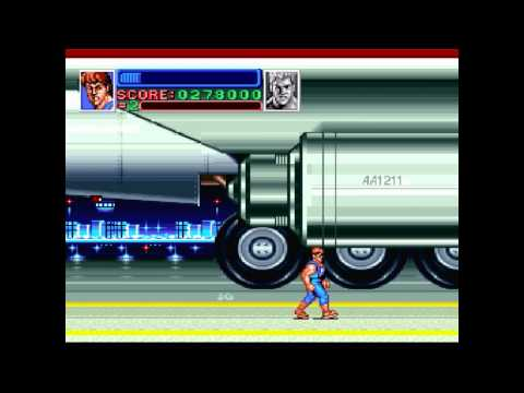 SUPER DOUBLE DRAGON - (SNES) Gameplay