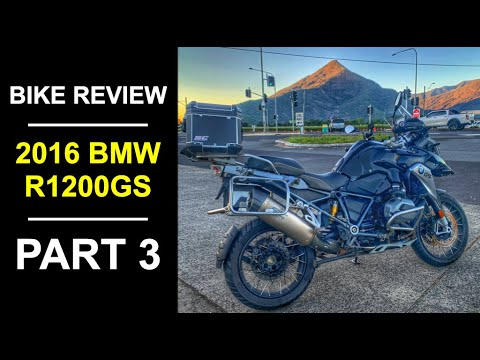 2016 BMW R 1200 GS Review Part 3 - The Road Test