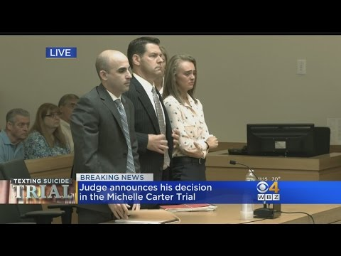 Michelle Carter Found Guilty Of Involuntary Massachusetts