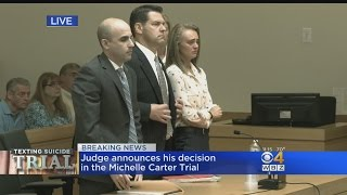 Michelle Carter Found Guilty Of Involuntary Massachusetts