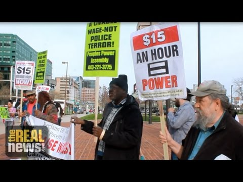 Baltimore Fast Food Workers Fight for Higher Wages