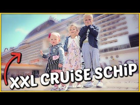 VAKANTiE OP MEGA XXL CRUiSE SCHiP 🚢 ( msc cruises)   Bellinga Familie Vloggers #1438