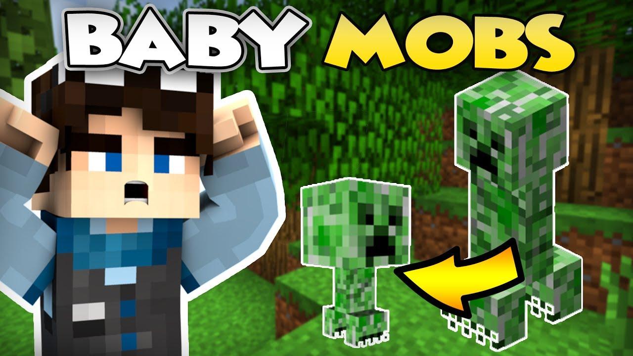 Minecraft BABY MOBS MOD BABIES