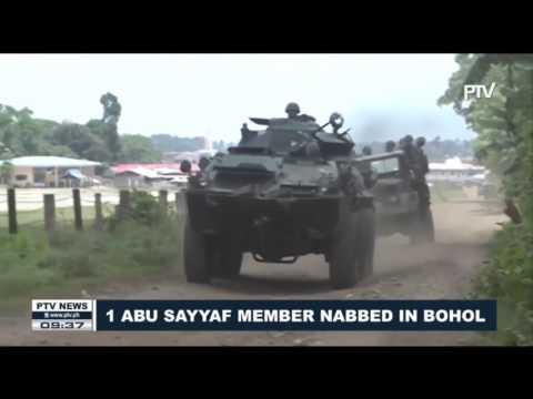 1 ASG member nabbed in Bohol