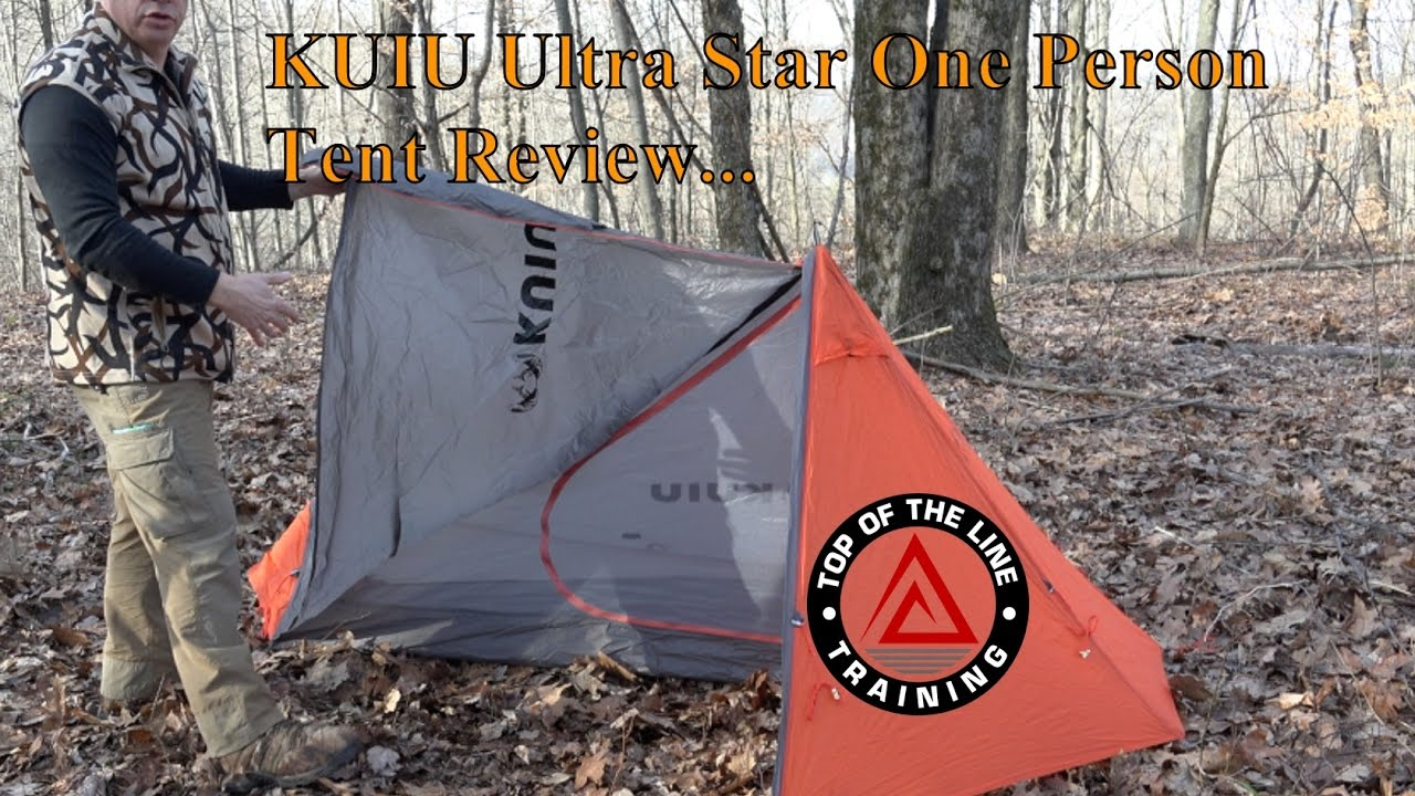 KUIU Ultra Star Single Person Tent Review & KUIU Ultra Star Single Person Tent Review - YouTube