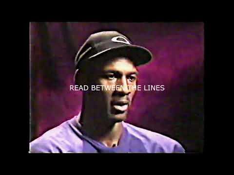 ***** Rare Michael Jordan Interview - 1995 Pre season with Ahmad Rashad*****