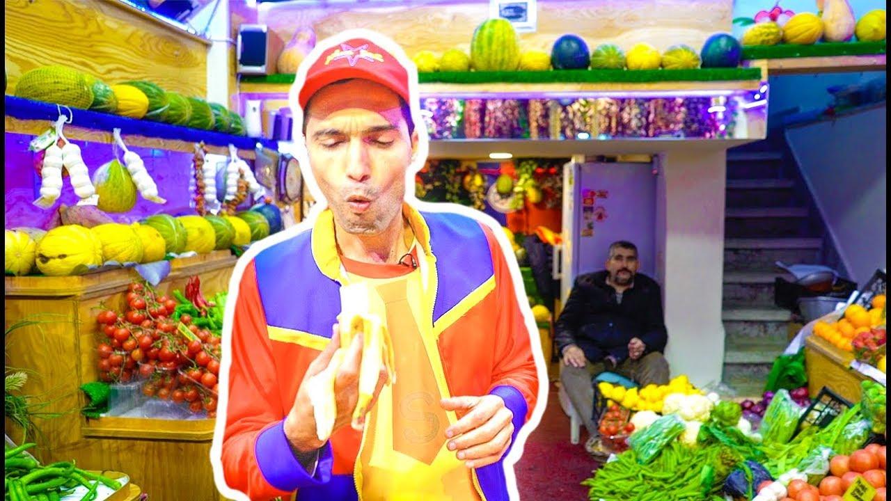 عمو صابر يبيع الفواكه والخضار  -  Amo Saber selling fruits and vegetables