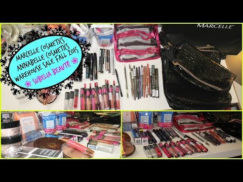 Makeup Warehouse Sale - Vente Entrepôt | Annabelle Marcelle cosmetics