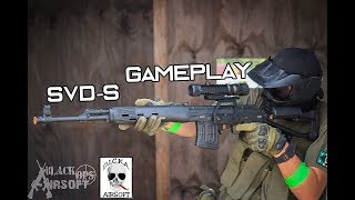 SVD-S Sniper Gameplay (Plus almost stepping on a dudes face)