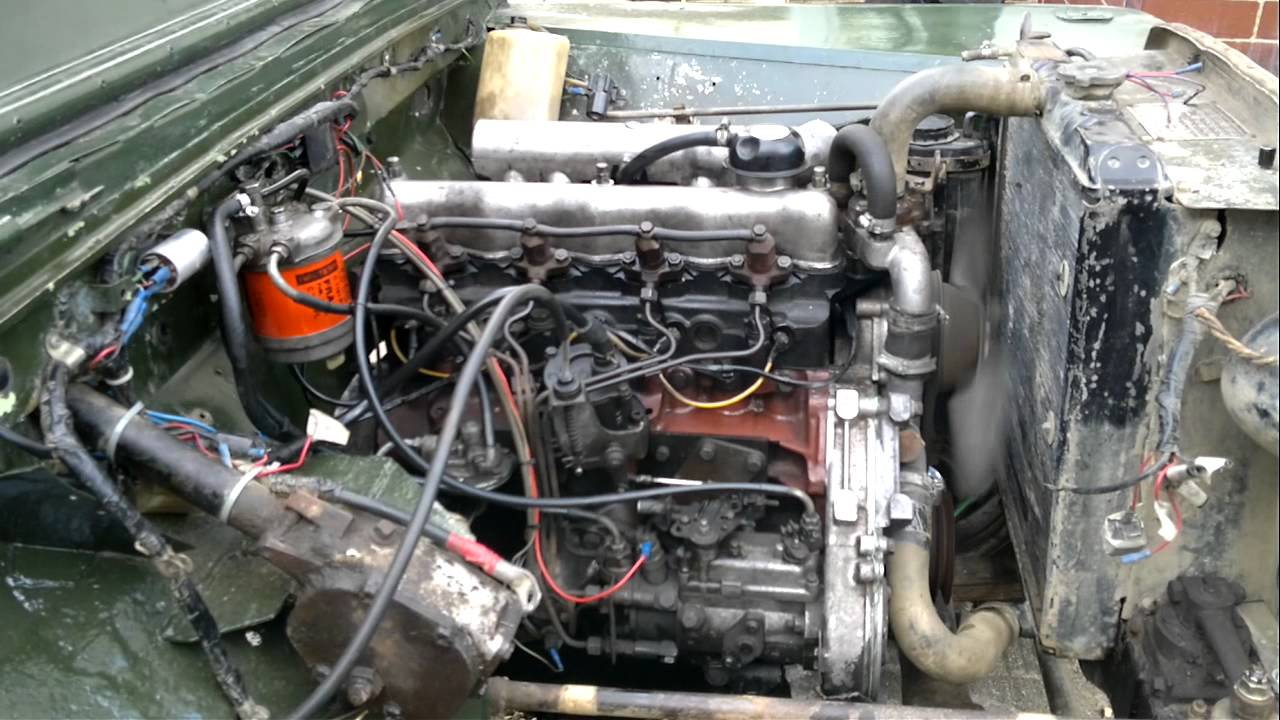 Land rover series one 80 diesel youtube publicscrutiny Gallery