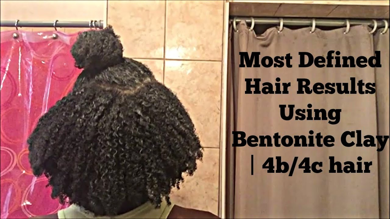 Most Defined Hair Results Using Bentonite Clay I 4b4c