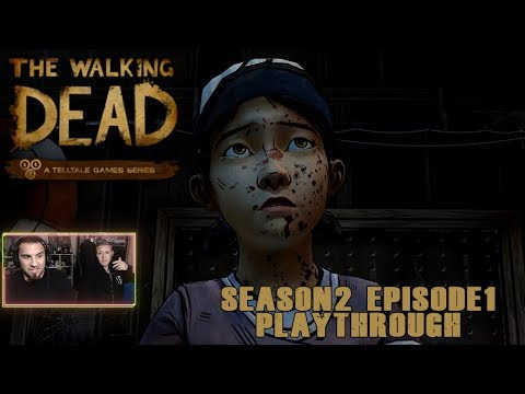 The Walking Dead Season 2 Episode 1 'All That Remains' Playthough | Stikker Gaming