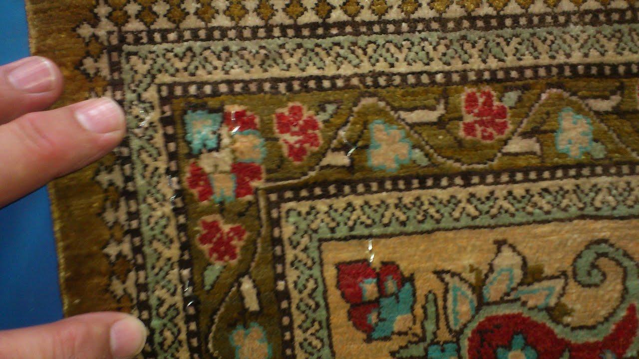 limpieza alfombras de seda: lavado a mano 5 - youtube