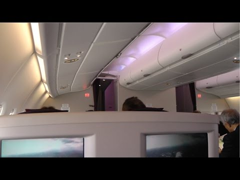 A380 Business Class Malaysia Airlines MH004: Kuala Lumpur to London
