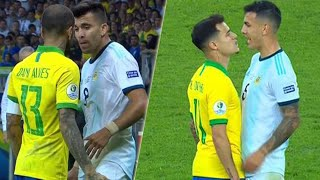 When Players Lose Their Cool (Brazil National Team)