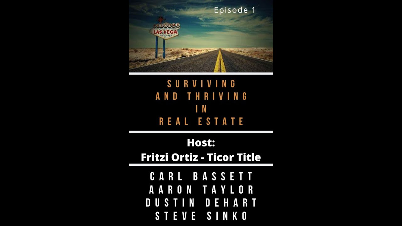 Surviving & THRIVING in Today's Real Estate Market Ep 1