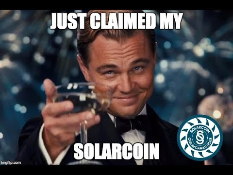 SolarCoin- ElectriCChain open community hangout #2