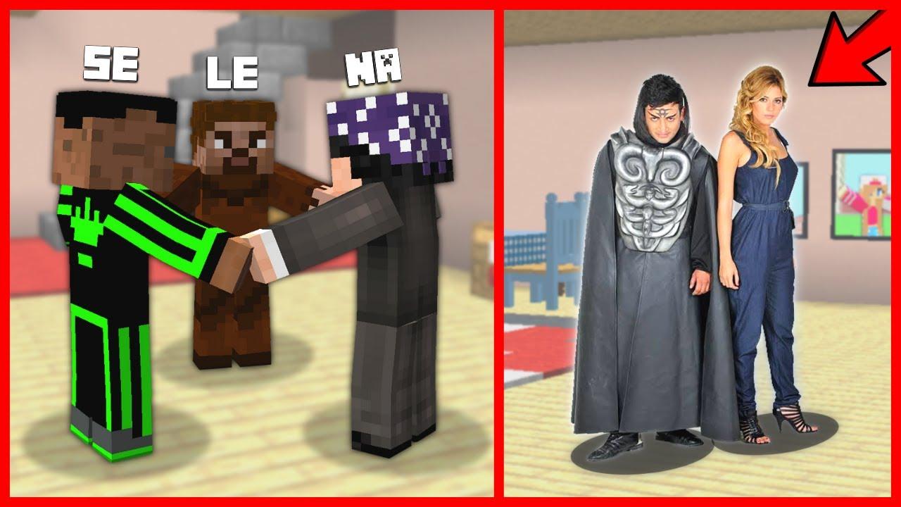 FAKİR VE ARKADAŞLARI SELENA'YI ÇAĞIRDI, HADES GELDİ! 😱 - Minecraft