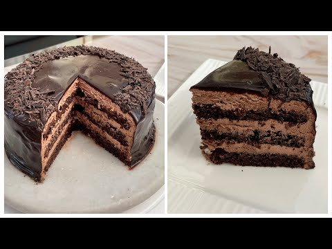 Best Chocolate Cake Recipe, Easy Chocolate Cake Recipe, Eggless and Without Oven, Birthday Cake