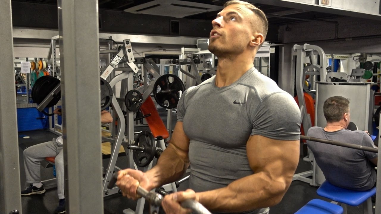 Full Biceps & Triceps Workout For Bigger Arms - YouTube