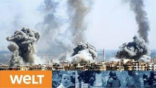 Eskalationsspirale in Syrien-Krise: Trump twittert - Assad schafft Fakten auf dem Schlachtfeld