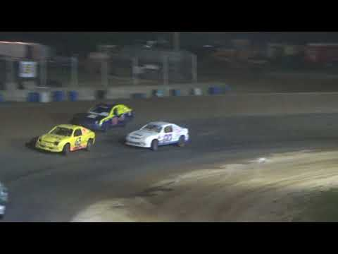 Flinn Stock Feature at Crystal Motor Speedway on 07-07-2018!