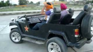 Manjit Singh ferozepuria Tying Turban While Riding ( First Time EVER ) World Record (94635-95040