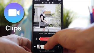 On a testé Clips, la nouvelle app d'Apple pour monter des vidéos !