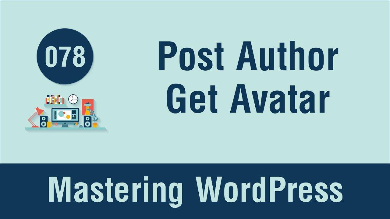 Mastering WordPress in Arabic #078 - Post Author Meta Part ...