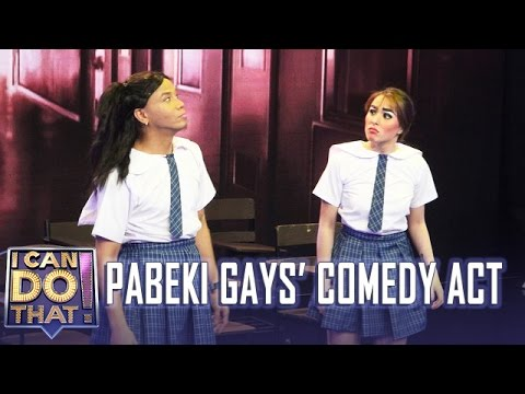 I Can Do That!: Cristine and Wacky Kiray | Comedy Act