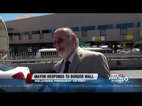 Nogales Mayor Weighs In On Border Wall And Immigration