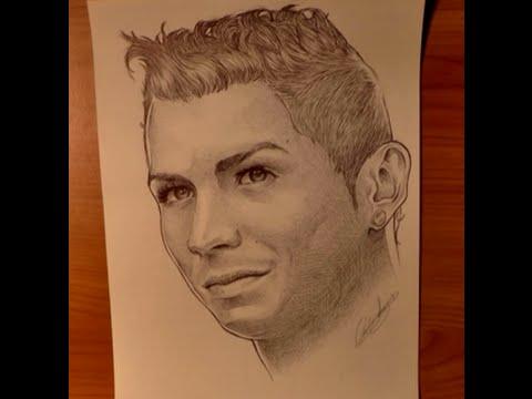Disegni a penna cristiano ronaldo youtube for Lepre immagini da stampare
