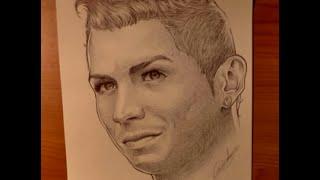 Disegni A Penna Cristiano Ronaldo Youtube