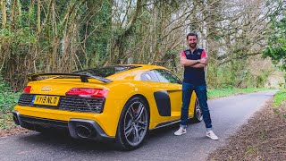 NEW Audi R8 V10 Performance 2019 First Drive Review!
