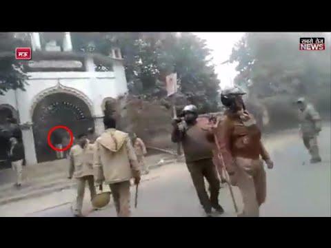 मऊ: थाना के सामने शव रख किया सड़क जाम, जमकर हुआ पथराव | Kopaganj | Mau | Uttar Pradesh | sabsetejnews