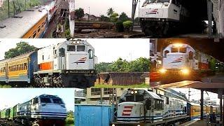Sisa Video Kereta Api Armada Daop 8 Surabaya