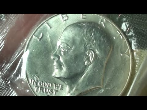 SILVER DOLLAR And SILVER QUARTER Coins - BICENTENNIAL 40% SILVER COINS - Eisenhower Variety 1 Or 2?