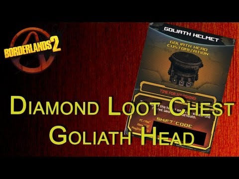 Borderlands 2 Lets see what the Goliath head looks like +GiveAway