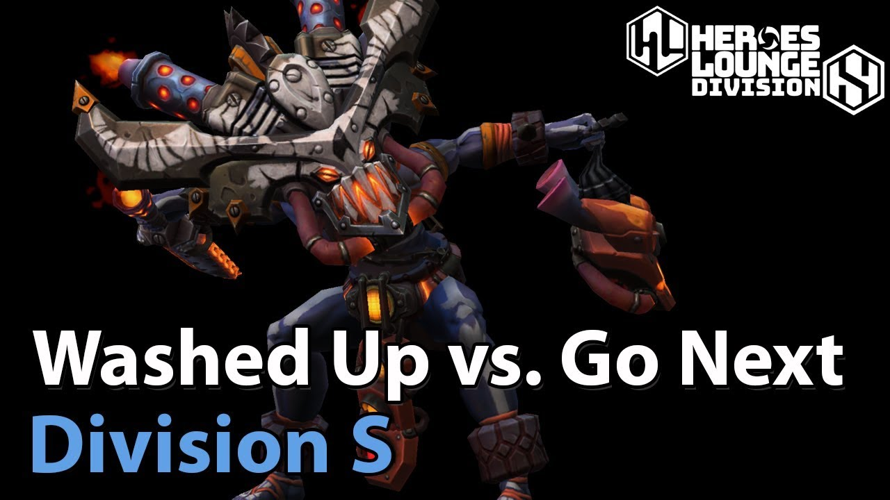 ► Washed Up vs. Go Next - Division S - Heroes of the Storm Europe