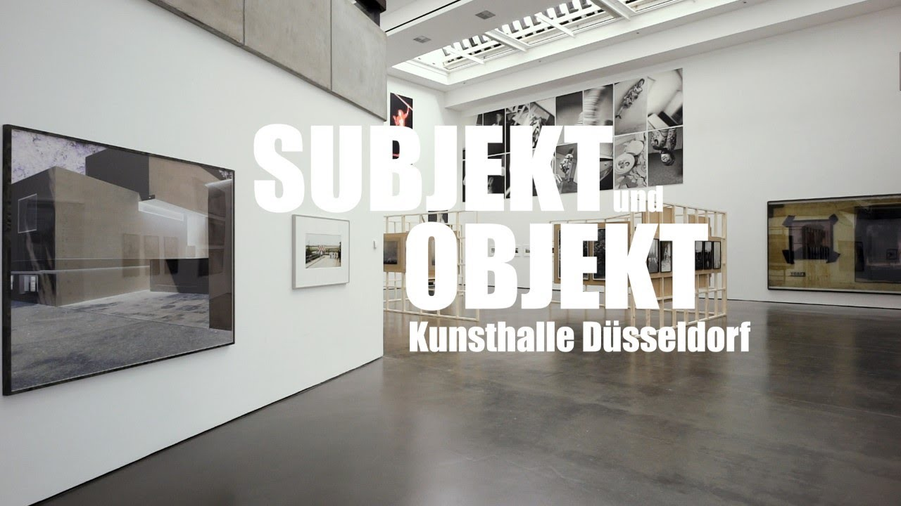 Subject And Object Photo Rhine Ruhr Exhibitions Kunsthalle