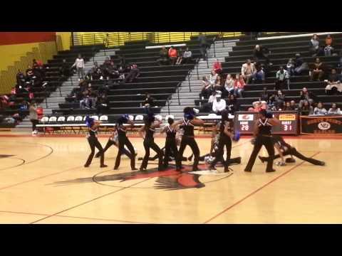 Theodore Davis Middle School spirit squad