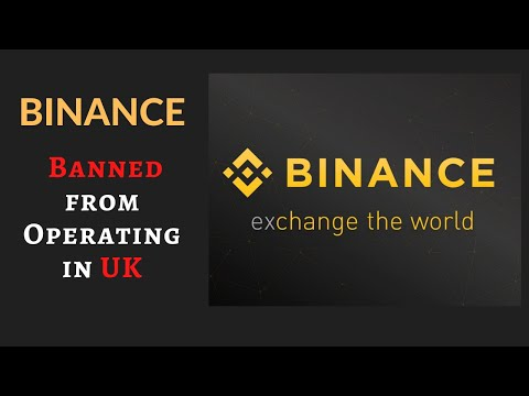 Binance Banned from Operating in UK