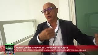 Azteca Deportes es la mejor alineación del Mundial Rusia: Alberto Ciurana