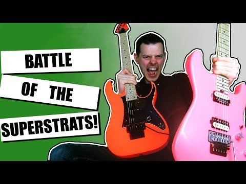 Charvel VS Ibanez | San Dimas VS. Genesis RG550 | Which Is Better?