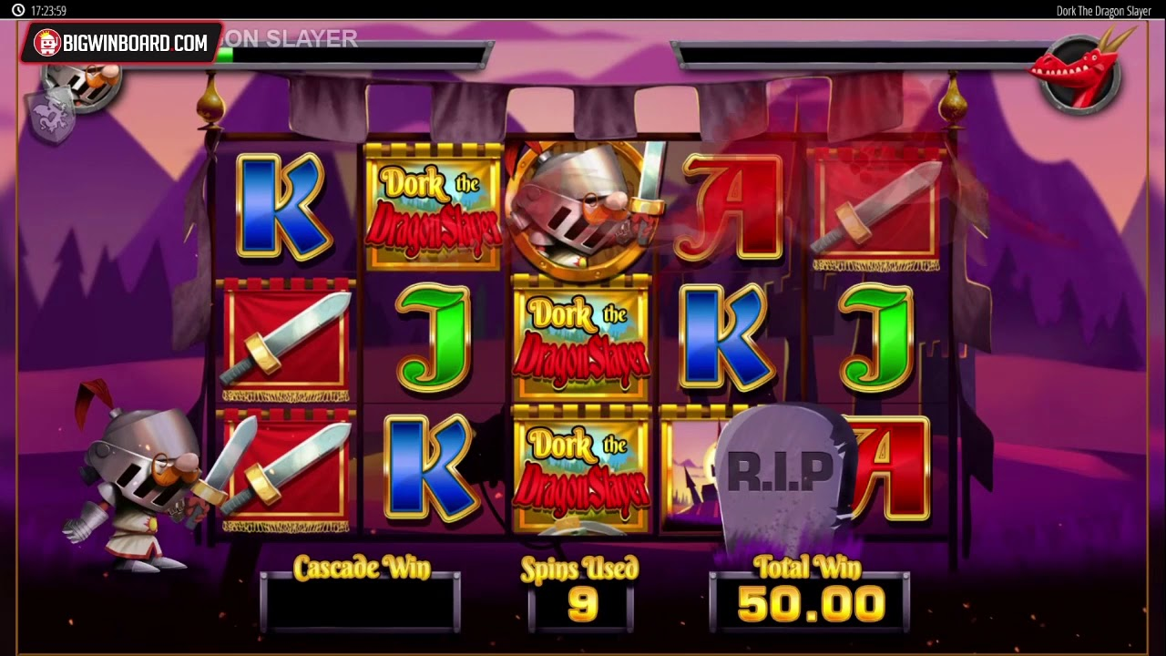 Dork the Dragon Slayer (Blueprint Gaming) Slot Review - Bigwinboard com