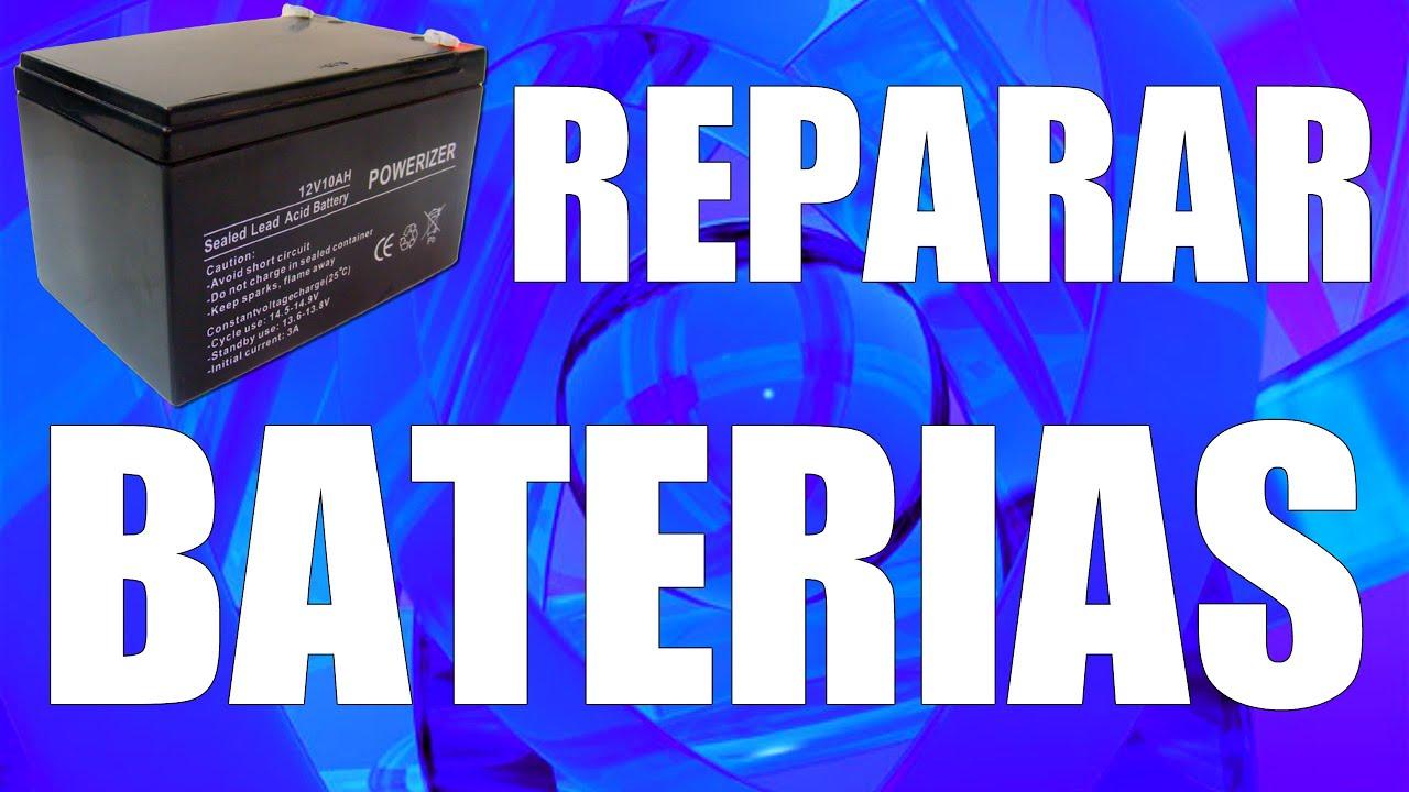 Reparar baterías de gel (ácido y plomo) - RESTORING BAD BATTERIES - www.logeek.net