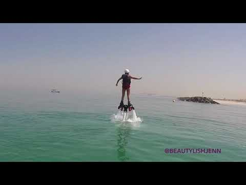 FLY BOARDING IN DUBAI (SO MUCH FUN)