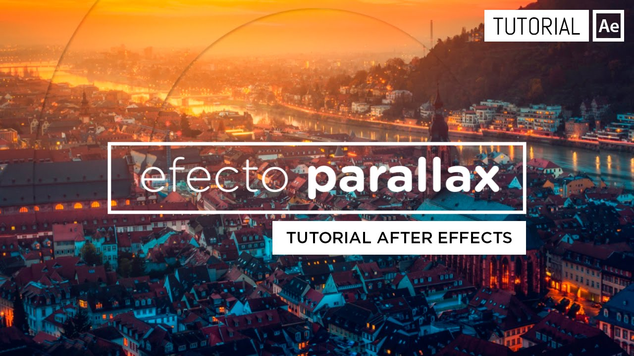 Parallax Effect [Slideshow] After Effects Tutorial - YouTube