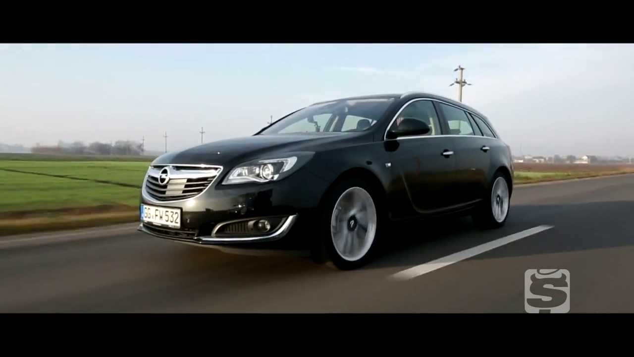 test opel insignia sports tourer facelift youtube. Black Bedroom Furniture Sets. Home Design Ideas